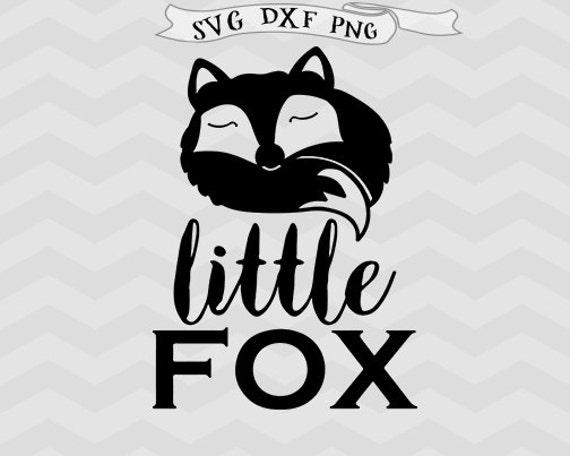 Little Fox SVG Cricut downloads Baby boy svg Baby girl svg