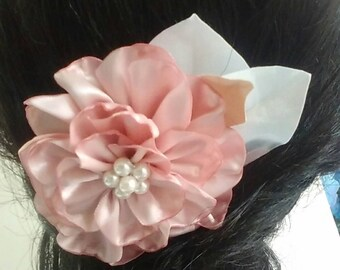 Headpiece, Flower Hair Accessory, Romantic Hair Comb