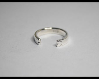 91. Sterling Silver Midi Ring / Toe Ring Polished Band