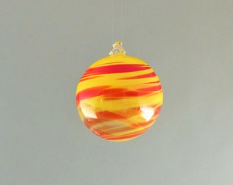 Red and Yellow Ornament