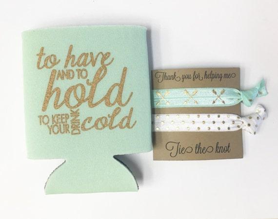 SALE-Bridesmaid beverage cooler// drink cooler//can cooler, drink cooler, bridesmaid gift, wedding, bachelorette gift, bachelorette party,