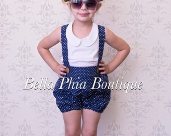 Sparrow Suspender Shorts Outfit