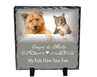 Pet Custom Slate gift, Personalized pet gift