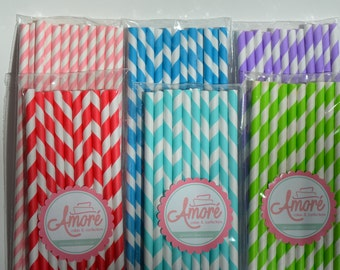 Paper Straws, Holiday Straws
