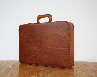 Congnac 'leather' Stradellina Brief Case / Attache - Retro / Mad Men  / Mid Century