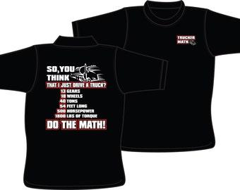 Trucker Math T-Shirt