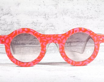 Swatch eccentric round sunglasses