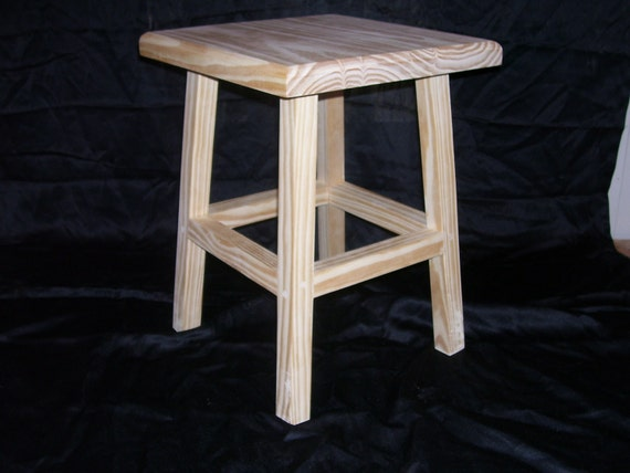 18 Wooden Stools ~ Wood stool in