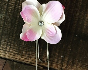 Flower, Bookmark, Planner Bookmark, Flower Bookmarks, Planners, Stationary