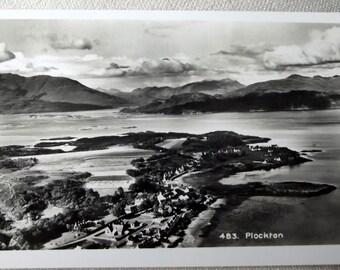 Real Photograph Postcard .Scotland. Plockton . postcard