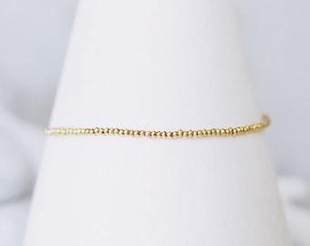 Majorelle Karen Hill Tribe Silver Vermeil Bracelet, Boho, Chic, Salt Bijoux, Precious, Gemstones, 14kt Gold Filled
