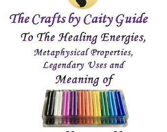 The Crafts by Caity Guide to Everything Spell Candles