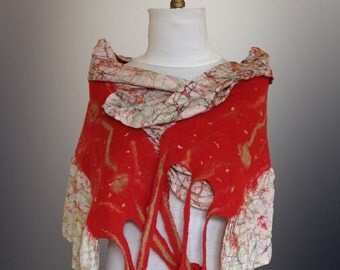 Nuno felt scarf/wrap