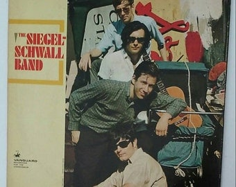 The Siegel-Schwall Band - The Siegel-Schwall Band, Stereo 1966 Vinyl LP Record Album VSD-79235,  Vanguard, USA