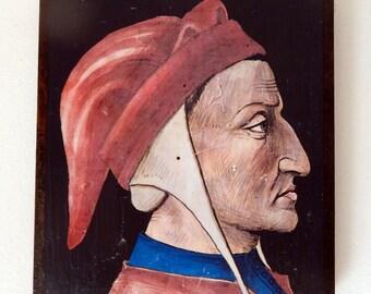 Dante Alighieri.FREE SHIPPING