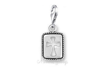 Cross Dangle Charm Pendant.
