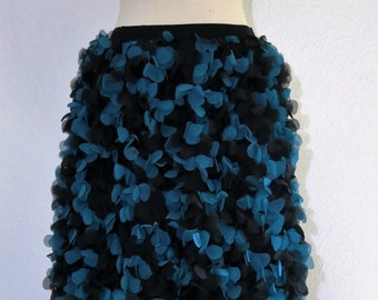 Petal skirt, inspired by the vintage style.