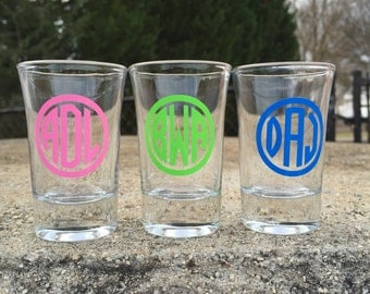 monogrammed shot glass mini red solo cup shot glasses 21st