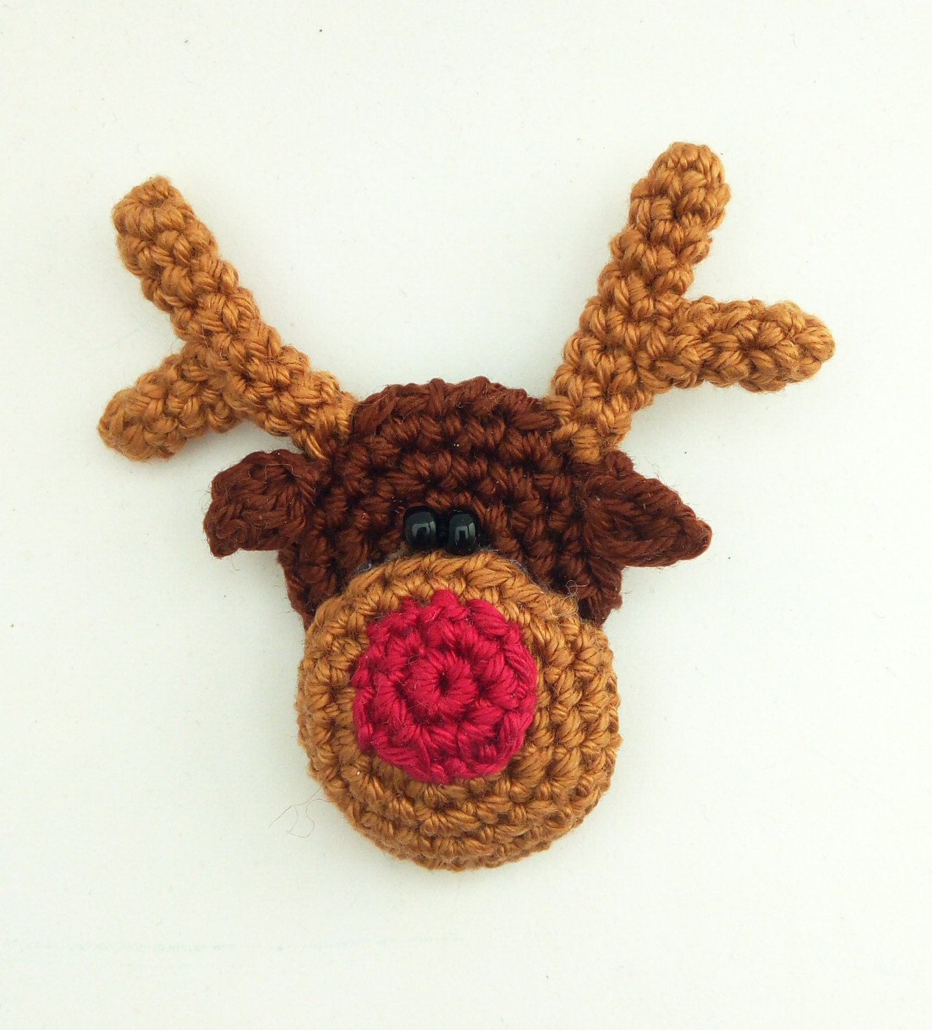 Crochet reindeer patterncrochet brooch patterncrochet christmas this is a digital file bankloansurffo Image collections