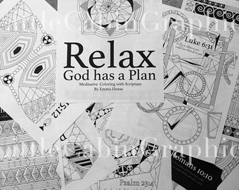 Christian Meditation Coloring Book