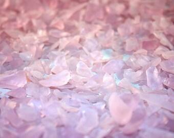 Pink Color Small Sea Glass (1 Pound Bag) (EA)