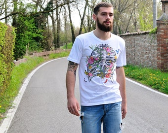 Floral T-Shirt, for men