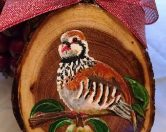 Christmas ornament Partridge in a Pear Tree