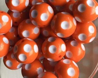 20mm Polka Dot Beads
