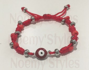 Evil Eye Bracelet Stainless Steel