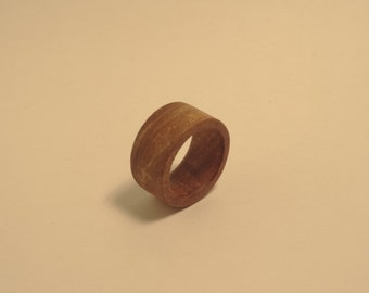 Wooden Ring, Cherry Wood, Wooden Ring, Cherry wood
