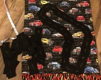 On the Go Car Mat, toy car mat