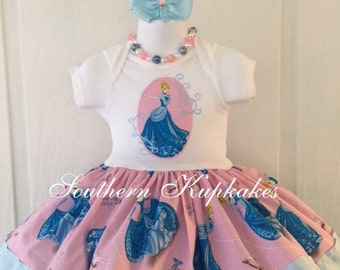 CINDERELLA Castle DiSNEY Princess inspired Twirl Dress Custom BOUTiQUE Pageant Party Sizes BiRTHDaY Vacation Pretty PiNK CRuiSe Full Skirt