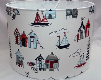 Handmade lampshade - Seaside