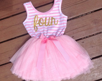 Fourth Birthday Dress