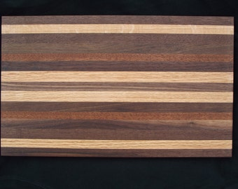 "11""X18""  3/4"" thick Custom Butcher Block Edge Grain Cutting Board.  Elegant gift for Christmas, Anniversary, House Warming or Weddings."