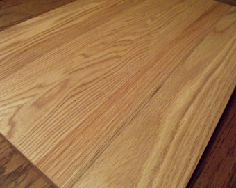 """Extra Large OAK 17x25"""" face grain Cutting Boards Perfect for cutting a huge rack of ribs or chopping tons of veggies - 25/32"""" thick"""