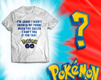 White Unisex T-shirt - PokemonGo -  I need to GO