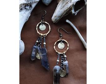 Smoky earrings