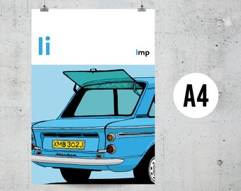 I is for Imp - A4 Print