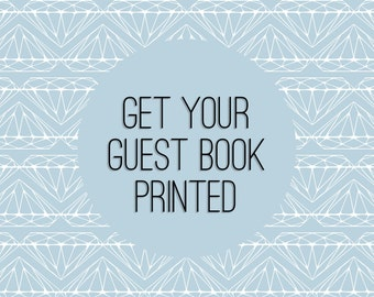 Guest Book Alternative Printing
