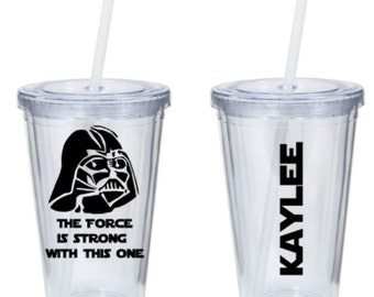 Darth Vader Tumbler - The Force is Strong with This One