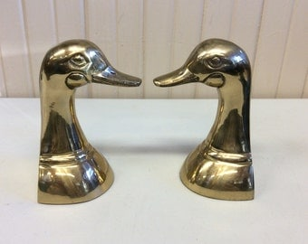 Vintage Korean duck bookends