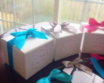 DIY Will You Be My Bridesmaid Kit - 5 Sets Of 4x4x3 Boxes
