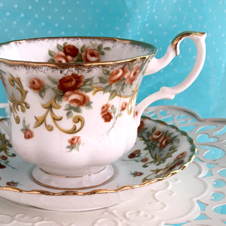 royal albert tea cup and saucer antique teacup sheraton. Black Bedroom Furniture Sets. Home Design Ideas