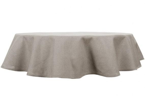 nappe ovale en lin dessus de table lin gris housse de table. Black Bedroom Furniture Sets. Home Design Ideas