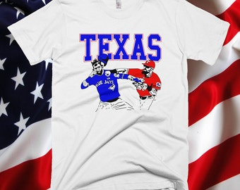 Texas Rangers Inspired Punch T-Shirt