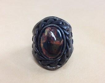 Ring with Jasper