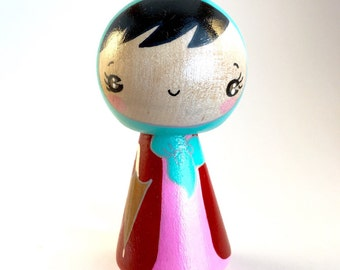 Rainy day kokeshi