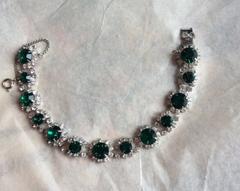 Vintage bracelet - very sparkly