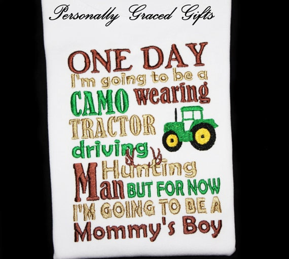 Tractor Going Right On Man : One day i m going to be a camo wearing tractor driving